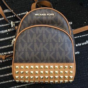 Michael Kors Abbey Studded Backpack XS